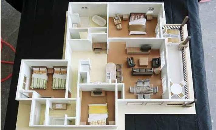 Miniatur Rumah Minimalis Dari Kardus yang Keren dan Mudah Dibuat