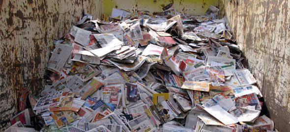 pengolahan kertas bekas