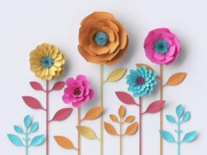 7 ide dekorasi bunga kertas untuk menghias rumah - beli
