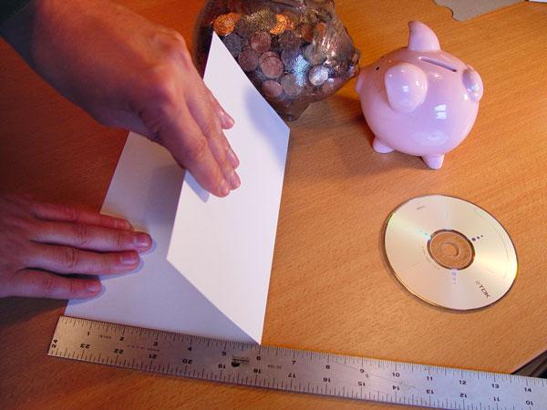 cara membuat amplop panjang dari kertas HVS