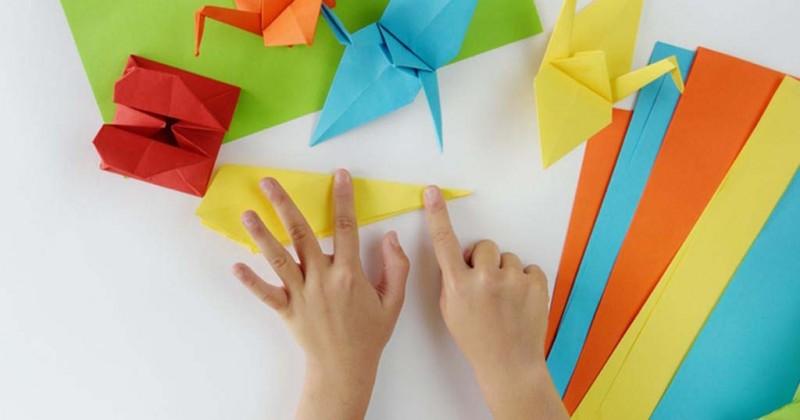 cara membuat mainan dari kertas lipat