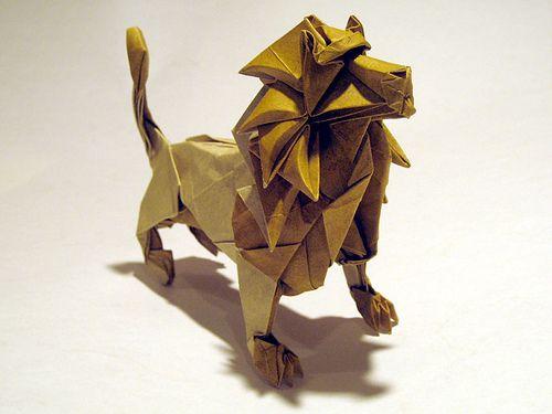 cara membuat hewan dari kertas lipat