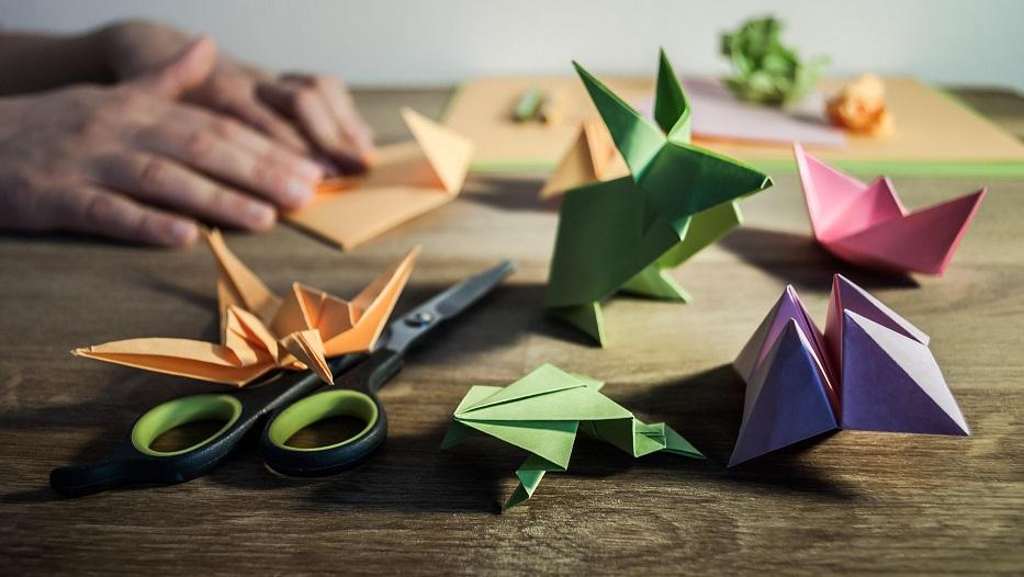seni melipat kertas dari Jepang